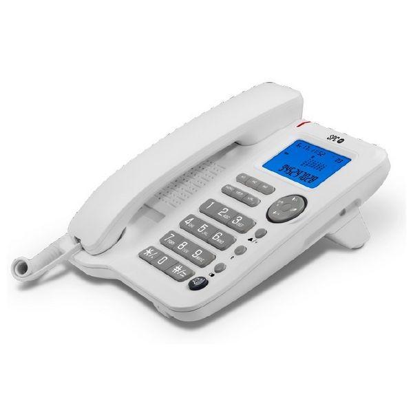 Festnetztelefon SPC 3608B LCD Weiß