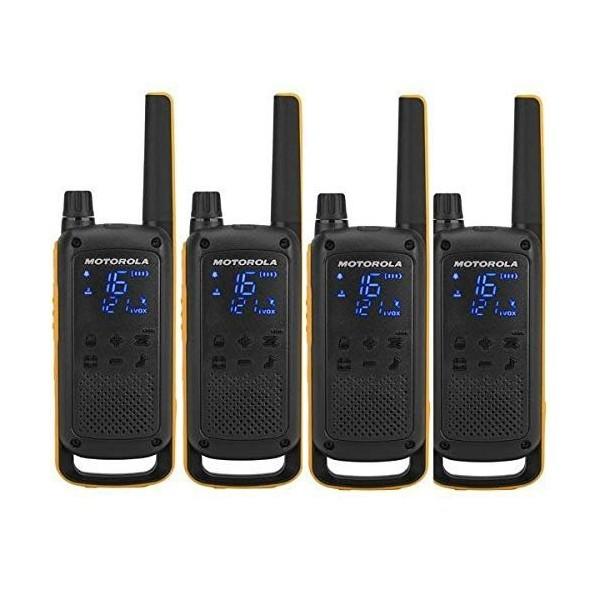 Walkie-Talkie Motorola T82 Extreme (4 Pcs) Schwarz Gelb