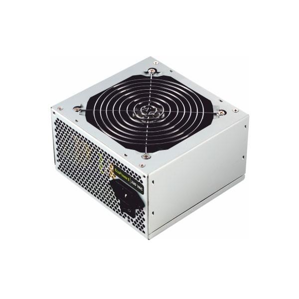 Stromquelle TooQ TQEP-500SSE ATX 500W Silbern
