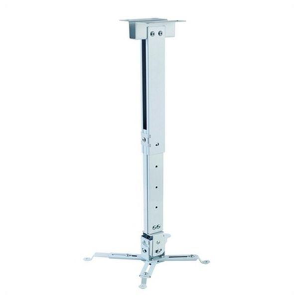 Verstellbare Deckenhalterung für Projektoren iggual STP02-S IGG314579 -22,5 - 22,5° -15 - 15° Alumin