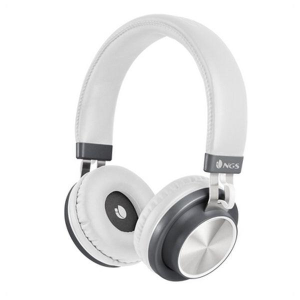 Bluetooth Kopfhörer mit Mikrofon NGS ARTICAPATROLWHITE Weiß