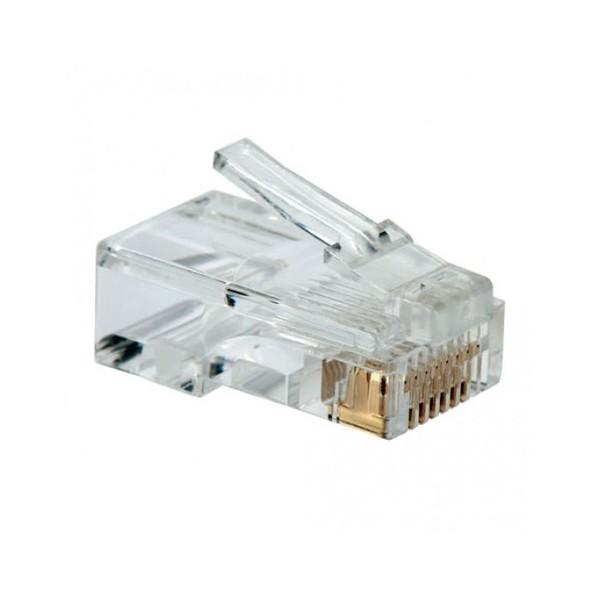 Kategorie 5 UTP RJ45 Anschluss NANOCABLE 10.21.0101 10 pcs grau