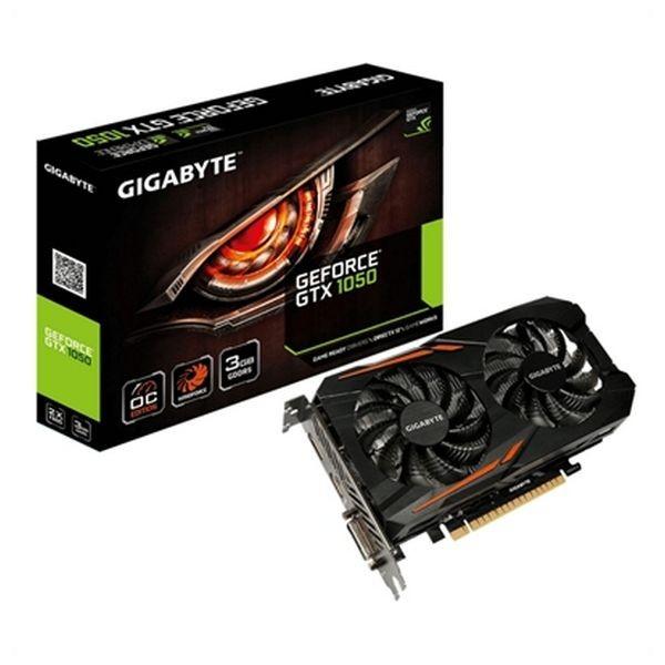 Gaming-Grafikkarte Gigabyte GV-N1050OC-3GD 3 GB DDR5 ATX