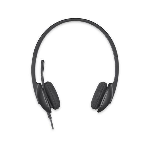 Kopfhörer mit Mikrofon Logitech H340 USB 1,8 m Schwarz