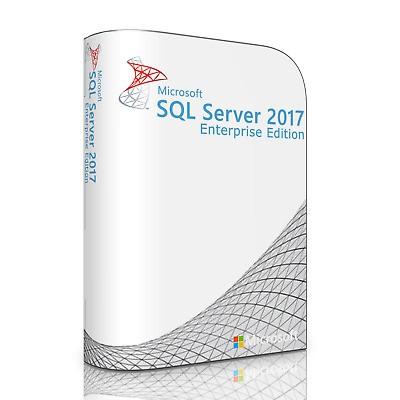 Windows SQL Server 2017 Enterprise 32 Core