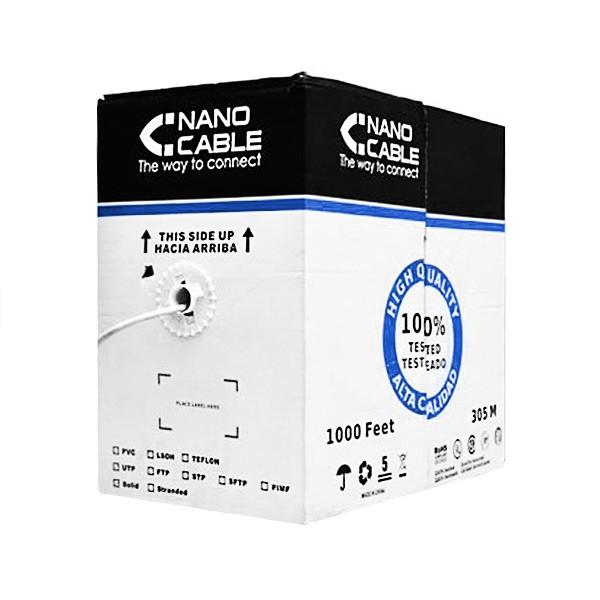 FTP starres Netzwerkkabel der Kategorie 5e NANOCABLE 10.20.0704 305 m