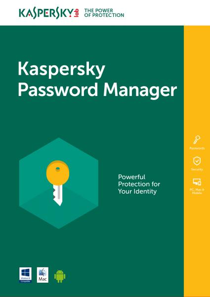Kaspersky Password Manager DACH (1U)
