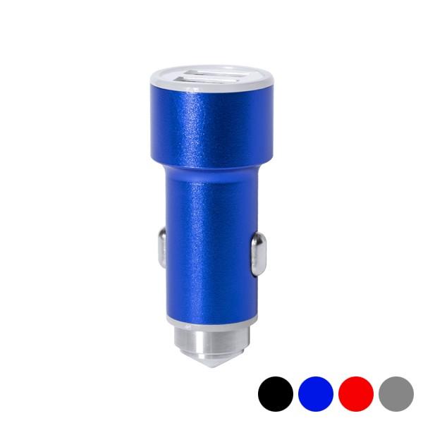 USB-Autoladegerät mit Glasbrecherhammer 2100 mAh 145587
