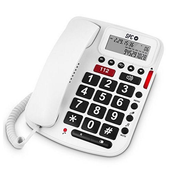 Festnetz für ältere Menschen SPC 3293B Weiß