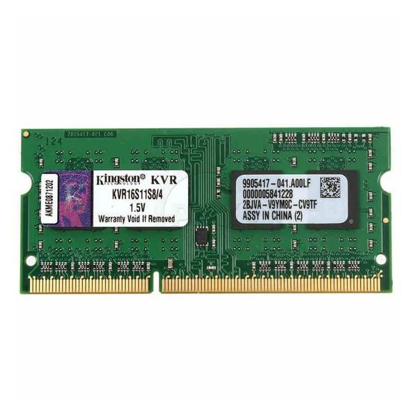 RAM Speicher Kingston IMEMD30096 KVR16S11S8/4 4 GB 1600 MHz DDR3-PC3-12800
