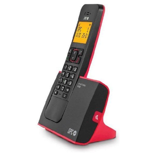 Kabelloses Telefon Dect SPC 7290R Schwarz