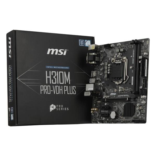 Mainboard Gaming MSI H310M PRO-VDH PLUS mATX LGA1151