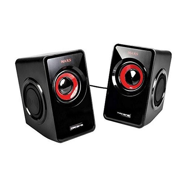 Gaming Lautsprecher Tacens MS1 MS1 Schwarz Rot