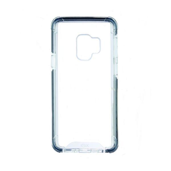 Handyhülle Samsung Galaxy S9 Flex Armor TPU Polycarbonat Schwarz Durchsichtig
