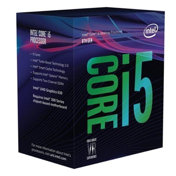 Prozessor Intel Core™ i5-8400 2,8 Ghz 9 MB LGA 1151 BOX