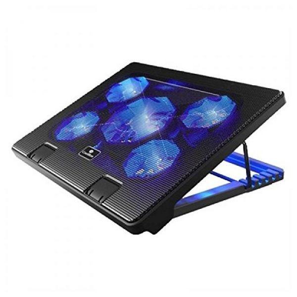 """Laptop-Kühlunterlage CoolBox COO-NCP17-5BL 12""""-17"""" Schwarz"""