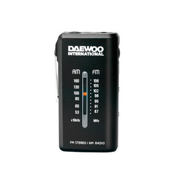 Transistor-Radio Daewoo DRP-9 AM FM Schwarz