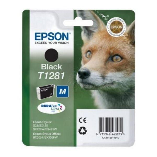 Original Tintenpatrone Epson C13T128140 Schwarz