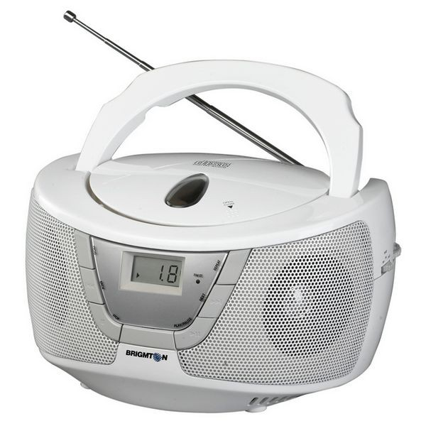 Radio mit CD-Laufwerk BRIGMTON W-410-B