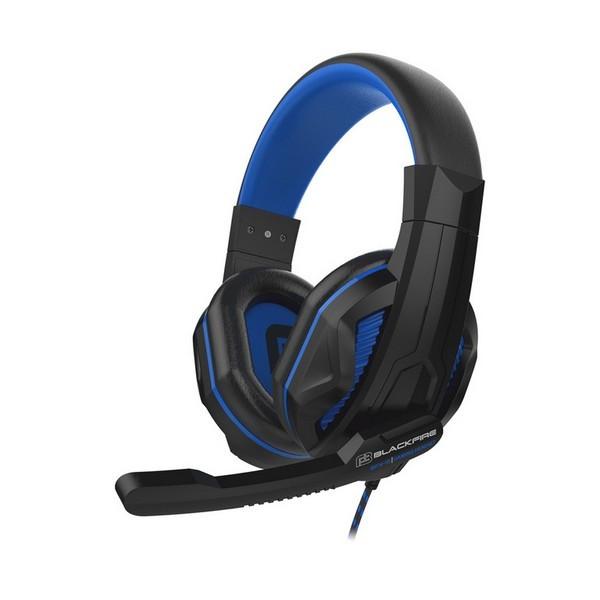 Gaming Headset mit Mikrofon Ardistel BLACKFIRE BFX-15B PS4 Schwarz Blau