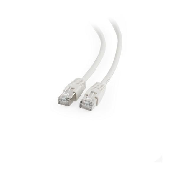 FTP starres Netzwerkkabel der Kategorie 6 GEMBIRD PP6-2M 2 m Grau