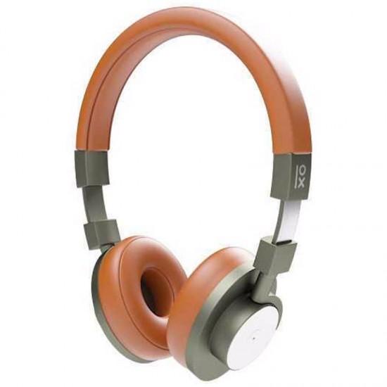Bluetooth Kopfhörer mit Mikrofon Primux A15 NFC Braun