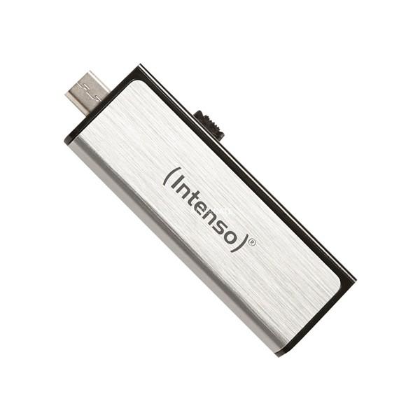 USB und Mikro USB Stick INTENSO 3523480 32 GB Silber