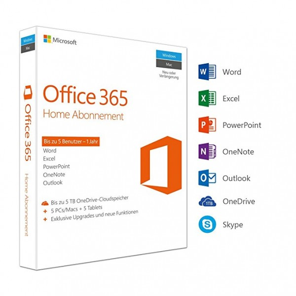 Office 365 Home 5 PC