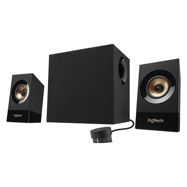 2.1 Multimedia Lautsprecher Logitech Z533 3.5 mm 60W Schwarz