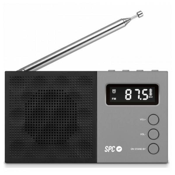 Transistor-Radio SPC 4577N FM LCD Schwarz