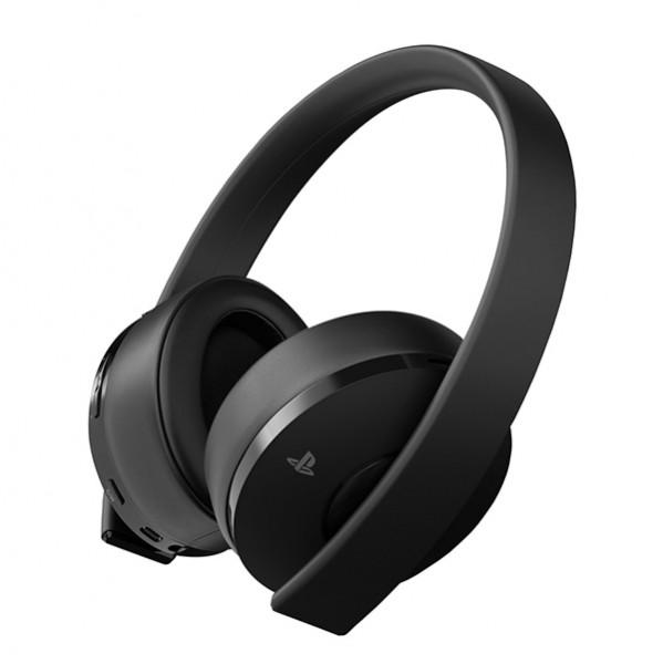 Gaming Headset mit Mikrofon Sony PS4 GOLD Wireless Schwarz