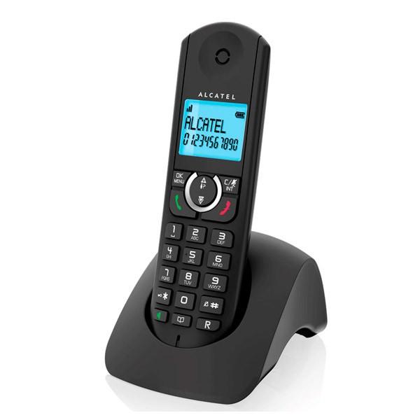 Kabelloses Telefon Alcatel F380S Duo Schwarz
