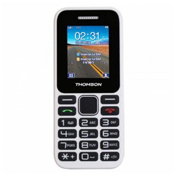 Mobiltelefon für ältere Erwachsene Thomson TLINK11WHT Weiß